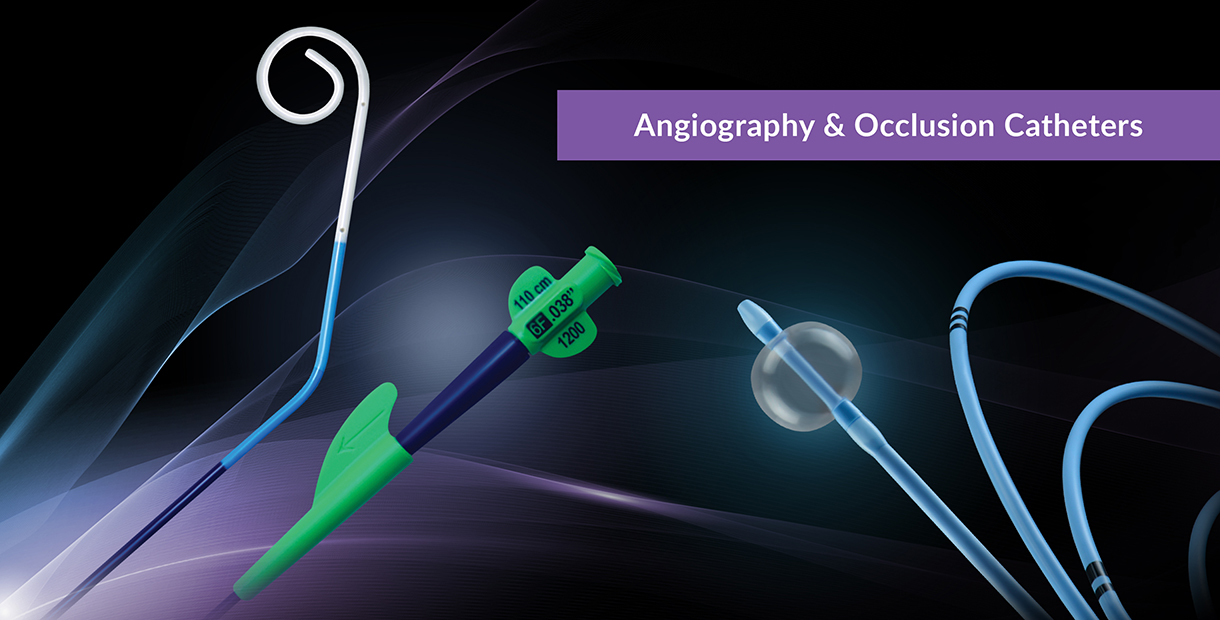 Angiography & Occlusion Catheters