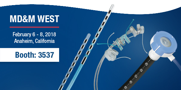JOIN US MD&M WEST 2018