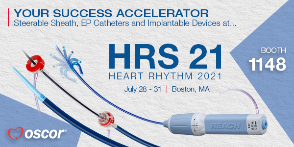 Join us in Boston during Heart Rhythm Show 2021!