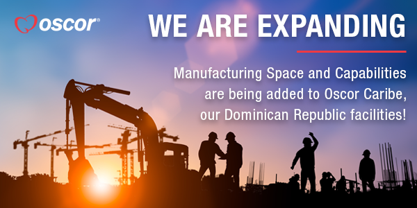 Oscor Inc. is Expanding its Oscor Caribe Manufacturing Space and Capabilities